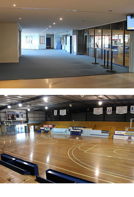 Sporting facilities and stadium cleaning